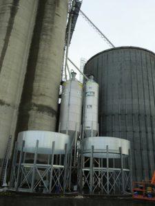 Montering av silo