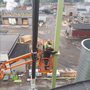 Korntørke montering