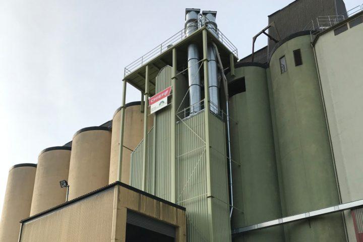 Ny kontinuerlig tørke på Braskereidfoss Kornsilo