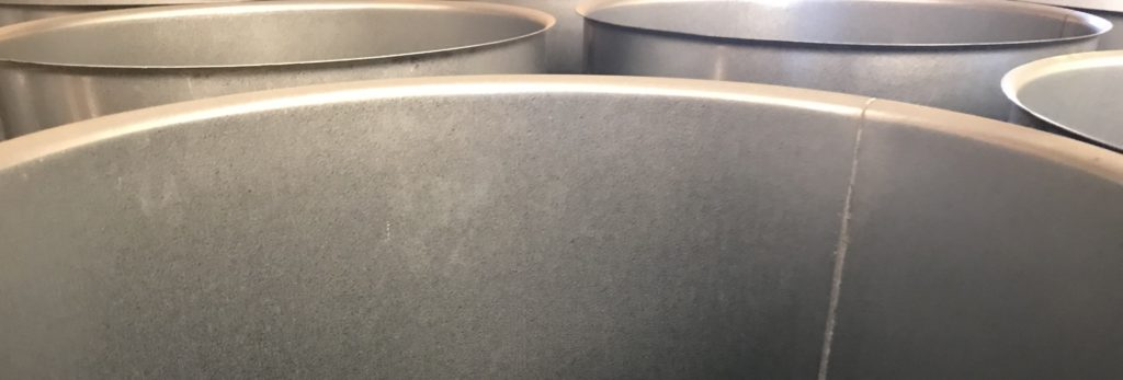 Snittbilde av galvaniserte rør fra SEB Produkter