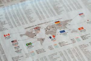 Valutahandel illustrasjon